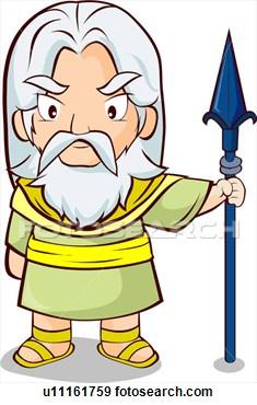 Greek mythology clipart.