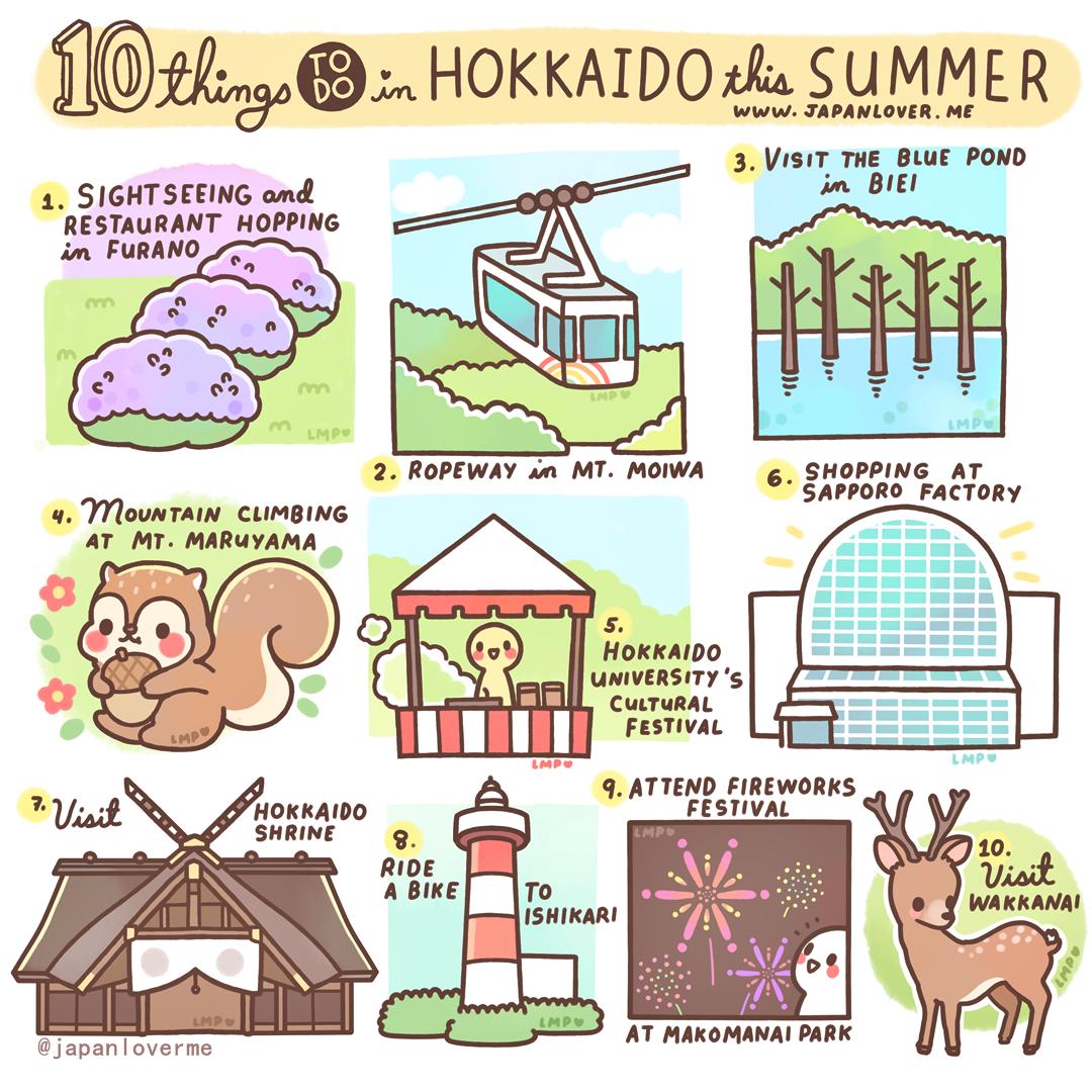 10 Things To Do in Hokkaido This Summer.