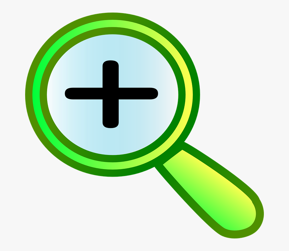 Zoom In Icon Clip Art , Transparent Cartoon, Free Cliparts.