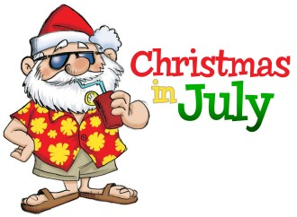Free Christmas In July Clipart.