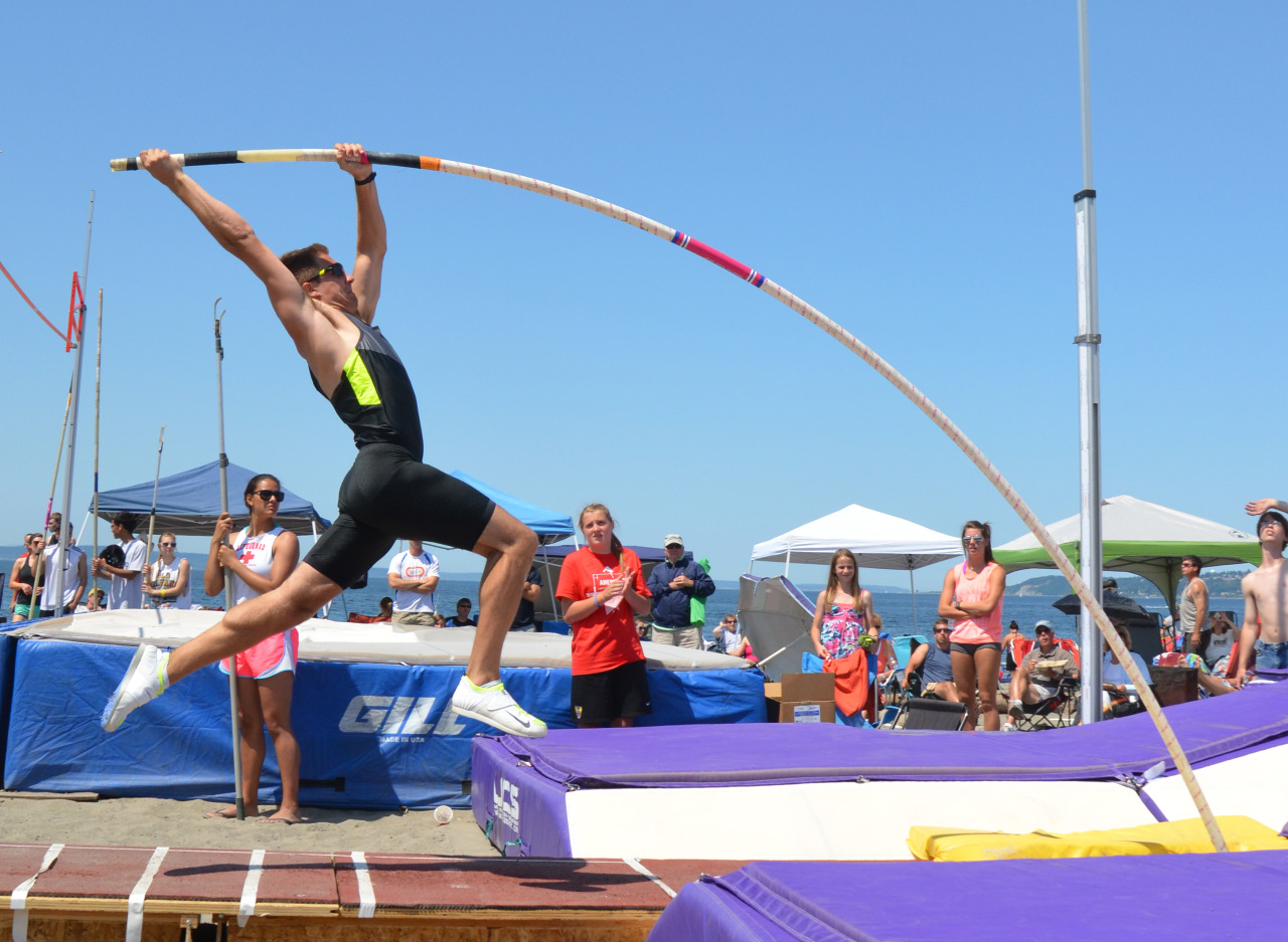 Pole vaulting! — Hard work beats talent when talent doesn't work.