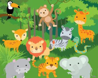 Jungle clipart 6.