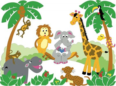 Jungle clipart 7.