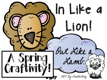 In Like A Lion Out Like A Lamb Worksheets & Teaching Resources.