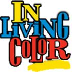 In living color font.
