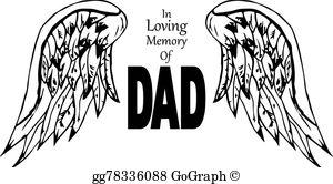 Loving Memory Clip Art.