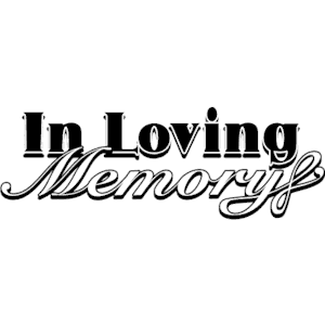 In Loving Memory clipart, cliparts of In Loving Memory free download.
