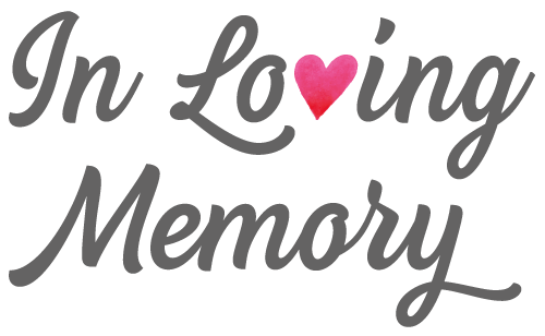 In Loving Memory Png Vector, Clipart, PSD.