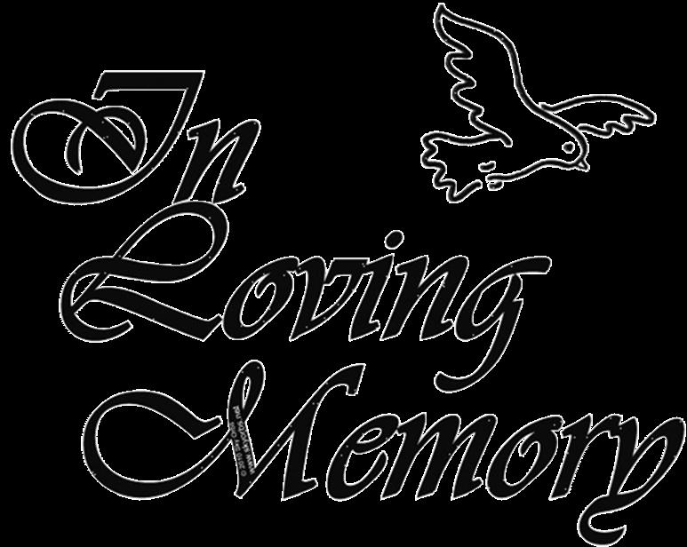 In loving memory clip art.