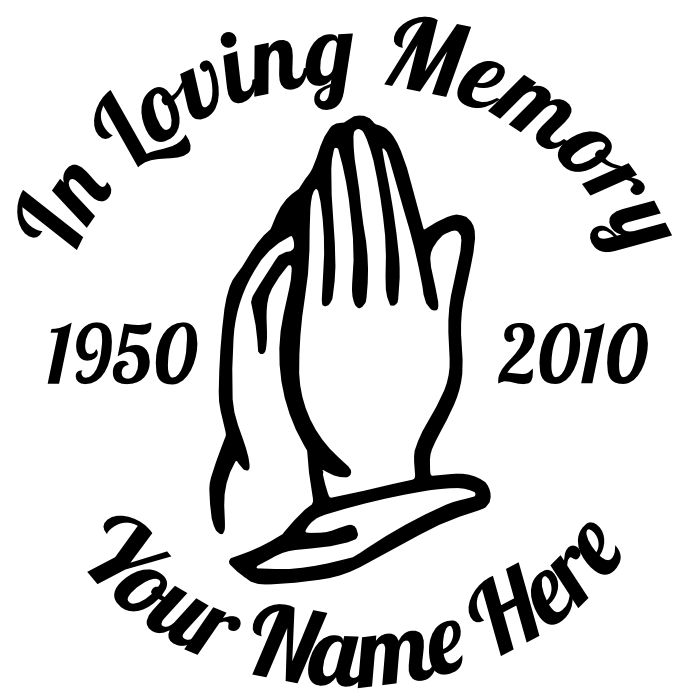 In memory of clipart clipground for Memory cross template