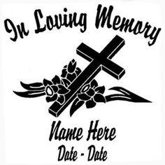 Loving memory clipart.