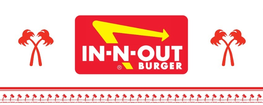 IN N OUT BURGERS LOGO.