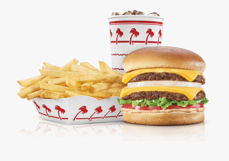 Veggie Burger Clipart In N Out Burger.