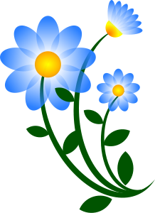 Clipart in nature flowers.