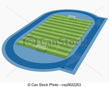 Drawings of soccer stadium with csp5622253.
