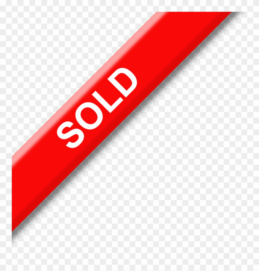 Clip Library Sold Banner Sign.
