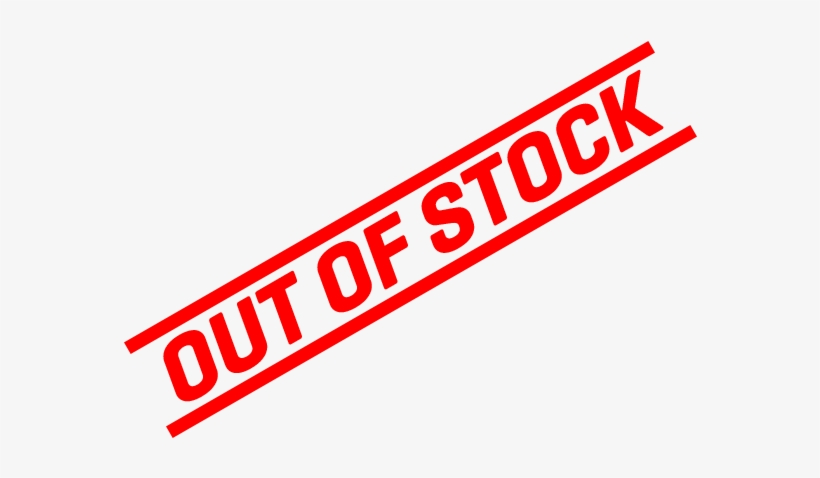 Out Of Stock Png PNG Image.