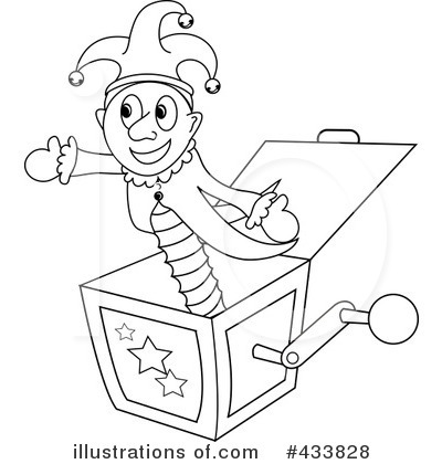 Clipart jack in the box free.