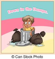 Down in the dumps Stock Illustration Images. 17 Down in the dumps.