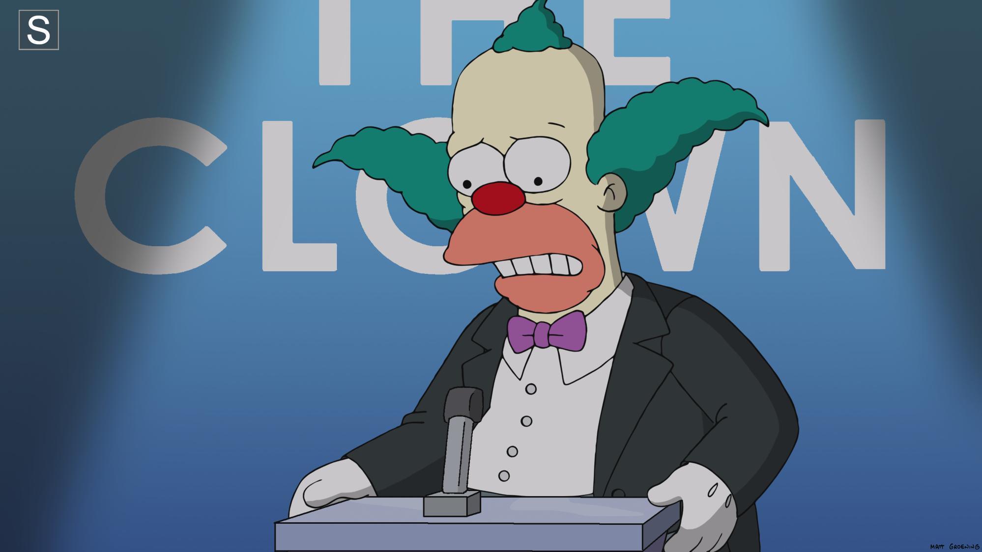 Clown in the Dumps.