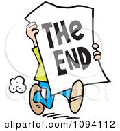 In the end clipart