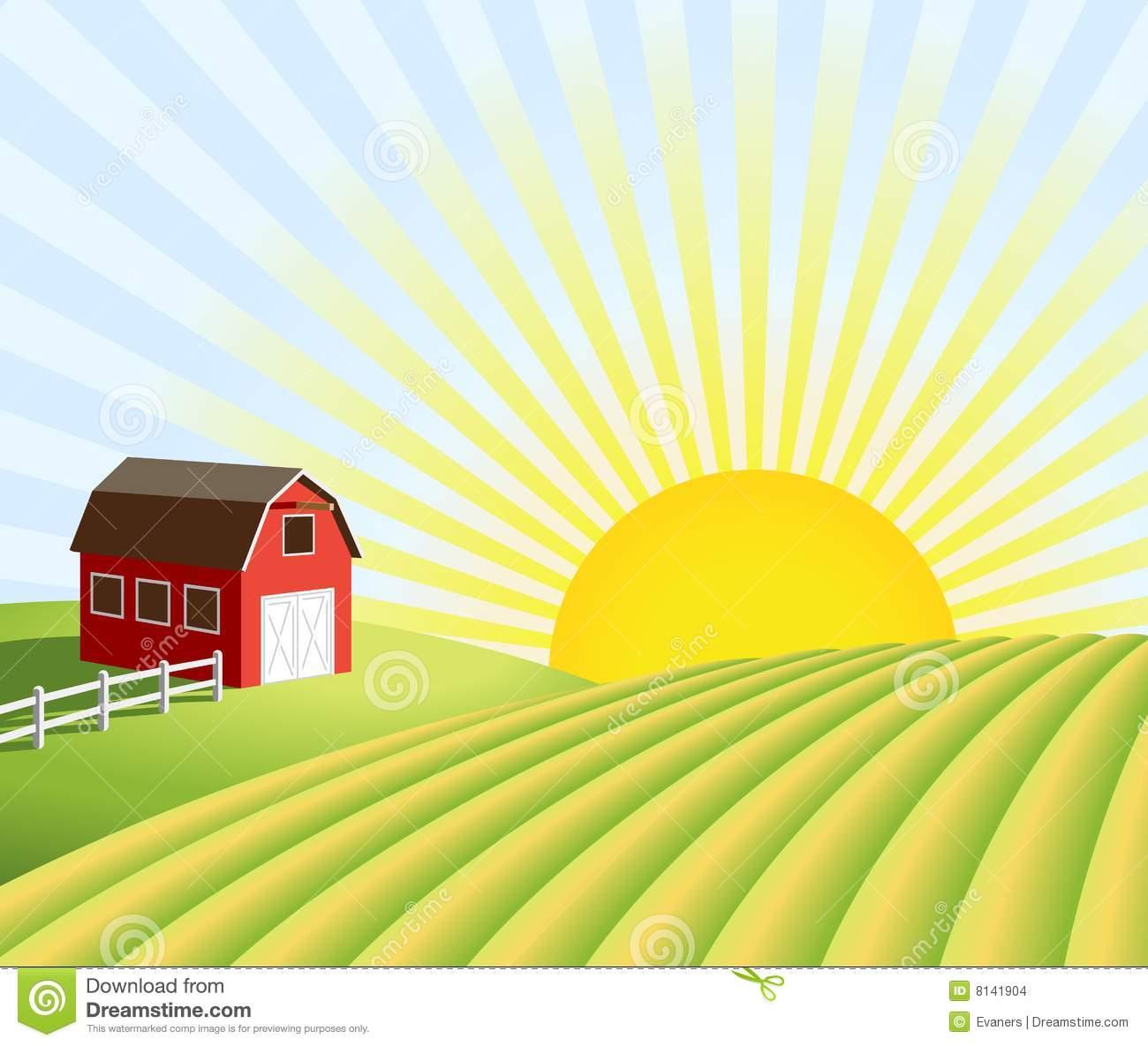Clipart Farmer In Field.
