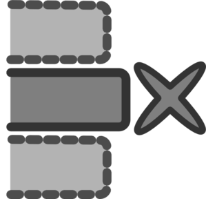 Remove Middle Row Clip Art at Clker.com.