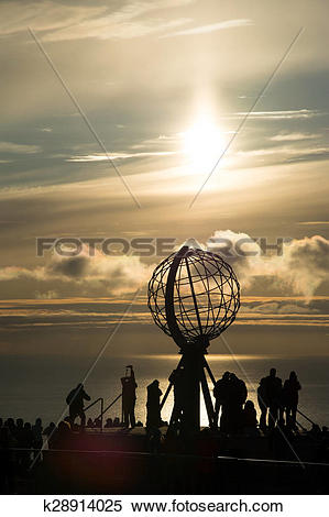 Stock Image of North Cape, Norway k28914025.