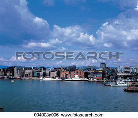 Stock Images of North Europe, Norway, sightseeing place.