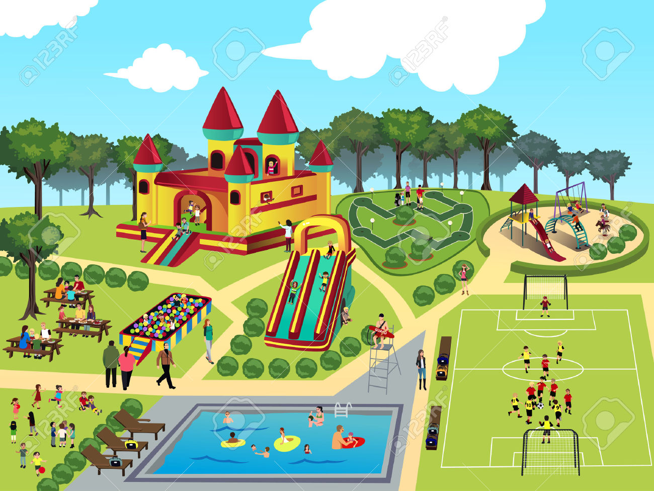 Park Clipart & Park Clip Art Images.