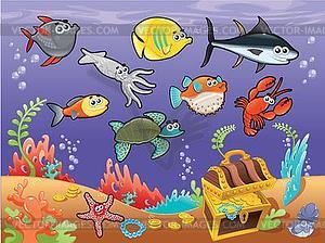 Sea Fish Clipart.