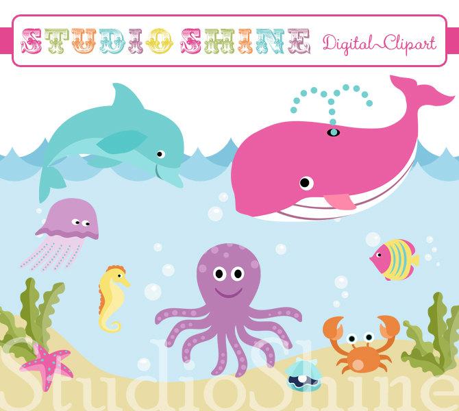 Under The Sea Clipart.