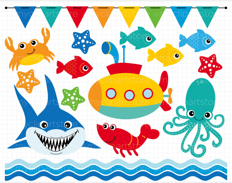 Under The Sea Clipart Images.