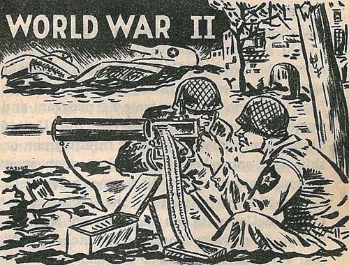 Second world war clipart.