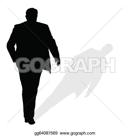 Shadow Figure Clip Art.