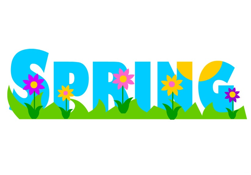 First day of spring free clipart.