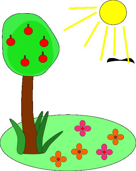 Animated summer clip art.