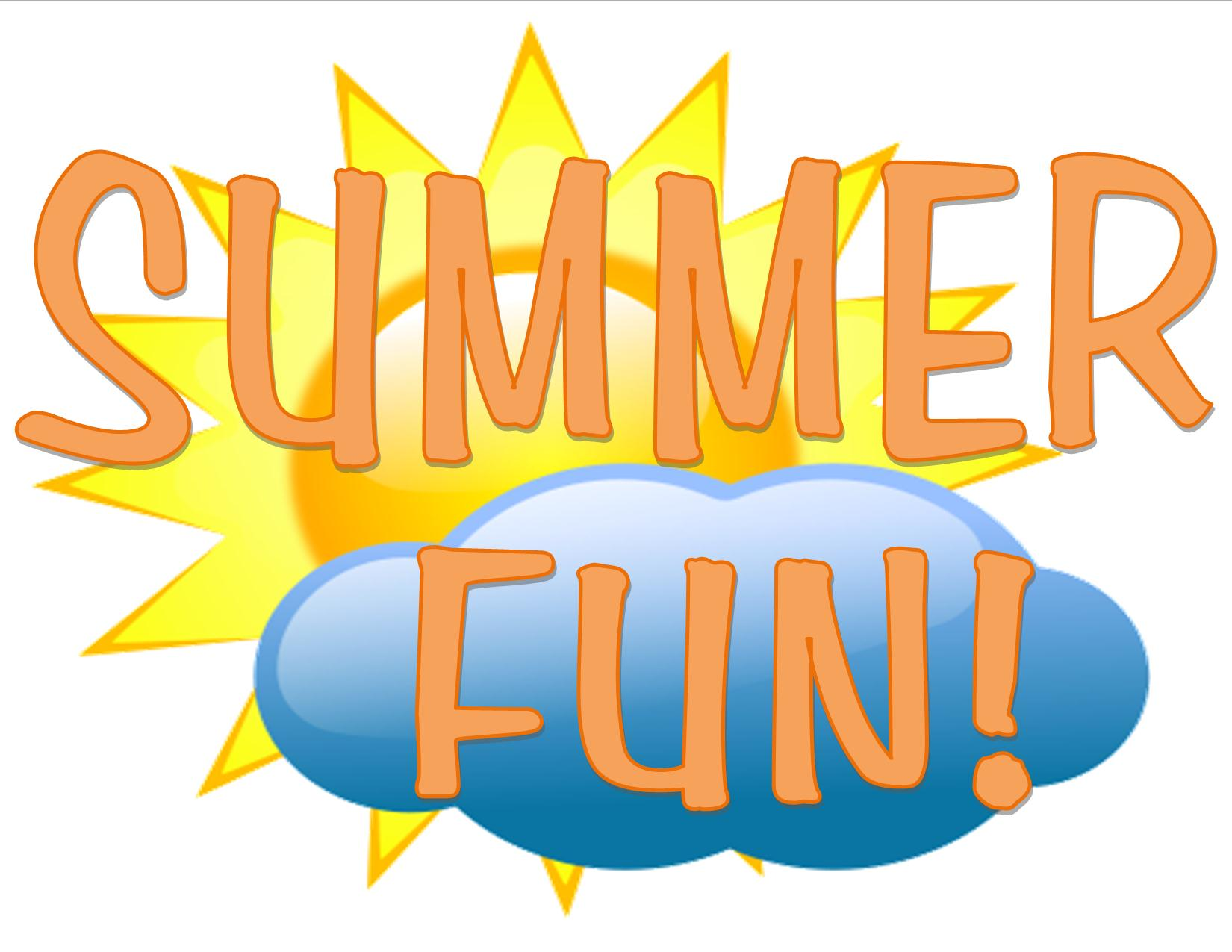 Fun Summer Time Clipart.