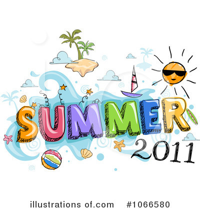 Summer Time Clipart #1066580.