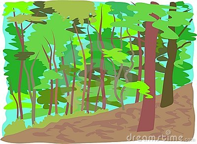 Clipart woods.