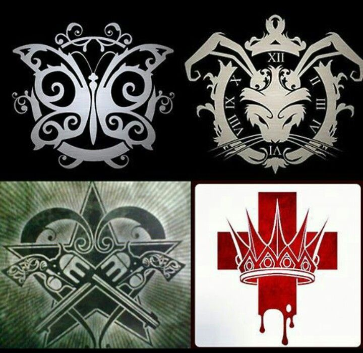 In This Moment band logos.