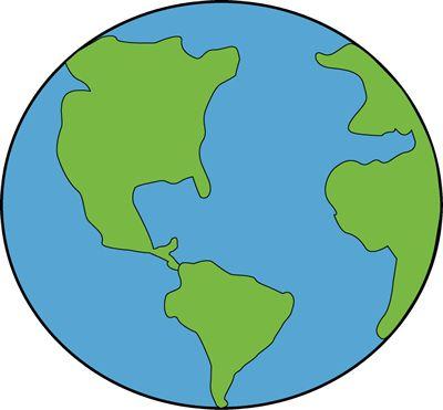 cute earth clipart #18