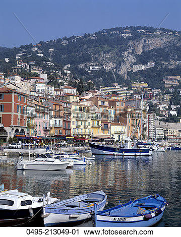 Stock Photography of France, Villefranche.