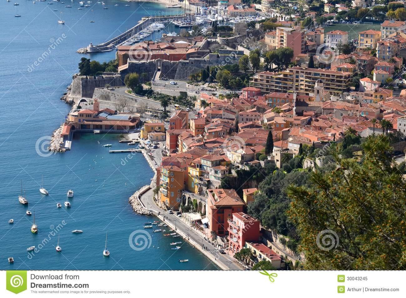 France, Villefranche Sur Mer, Citadel Royalty Free Stock Photo.