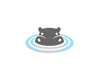 Clipart hippo water.