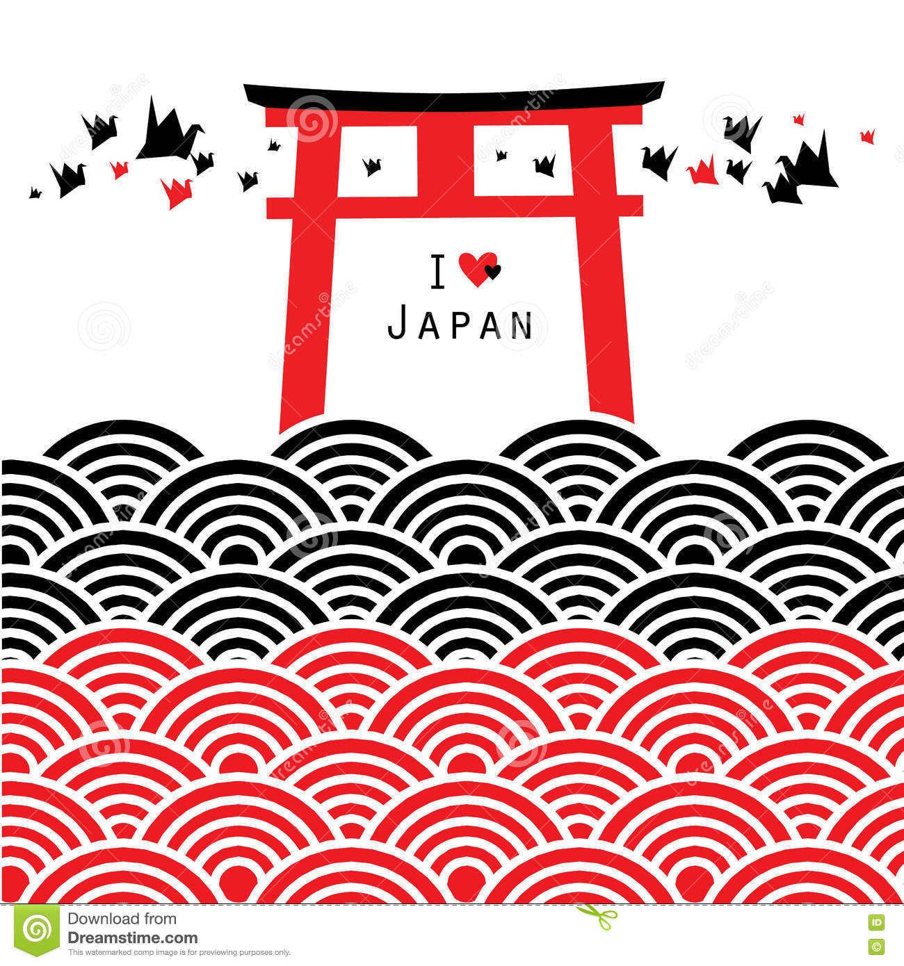 Inari Stock Illustrations.