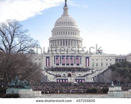 Presidential Inauguration Stock Photos, Royalty.