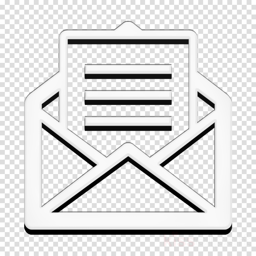 email icon inbox icon letter icon clipart.