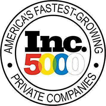 Inc. 5000 Logo America\'s Fastest Growing Private Companies.