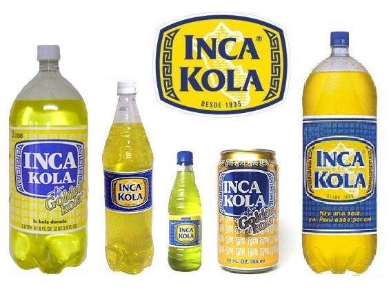 Sabes lo que es la INCA KOLA?, ¿la has probado alguna vez? Es una.